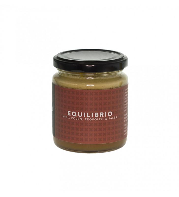 Equilibrio 285g, Miel polen propoleo jalea - La piquera