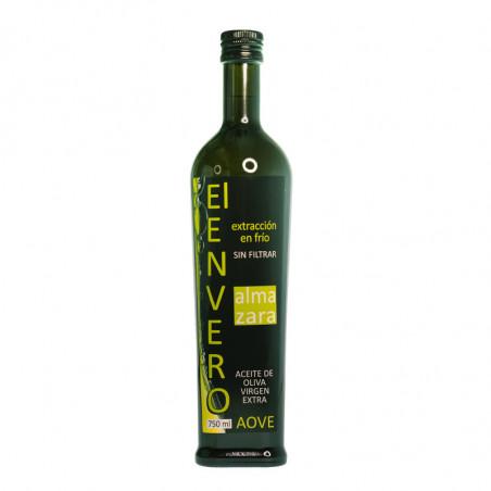 Botella. Aceite temprano premium de Elche - Almazara El Envero